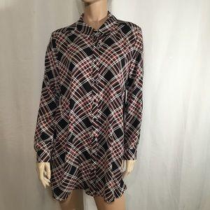 Como vintage -tunic blouse (C67🌺